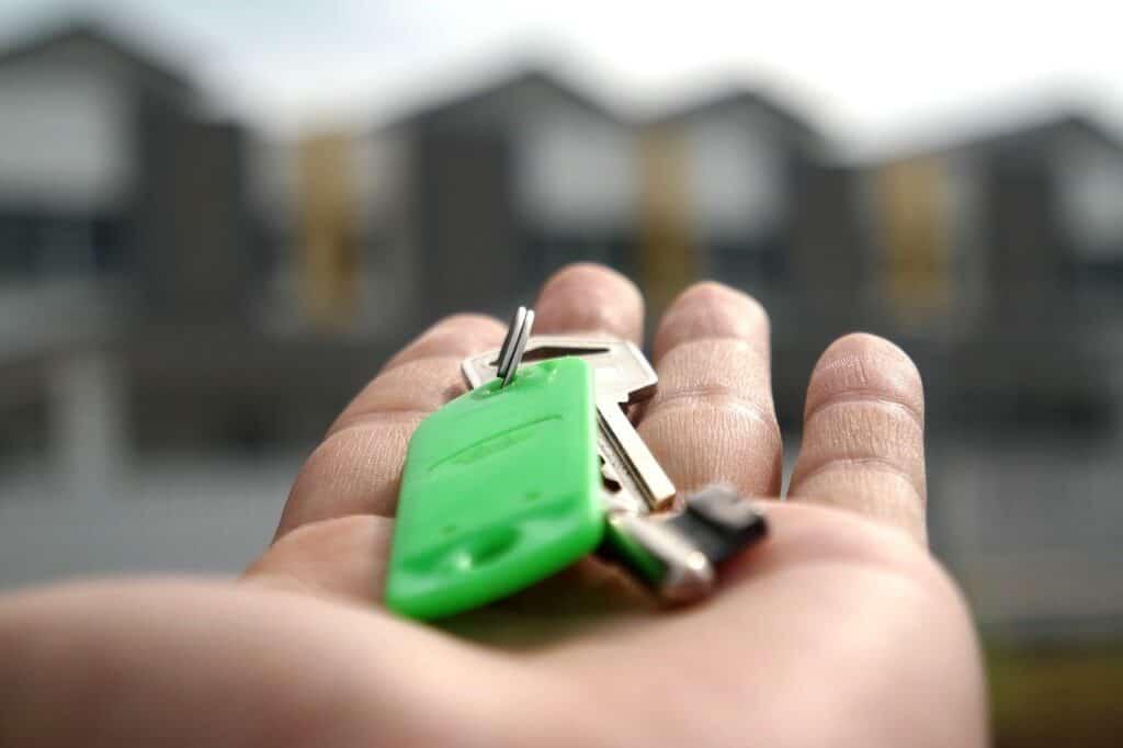key, home, house